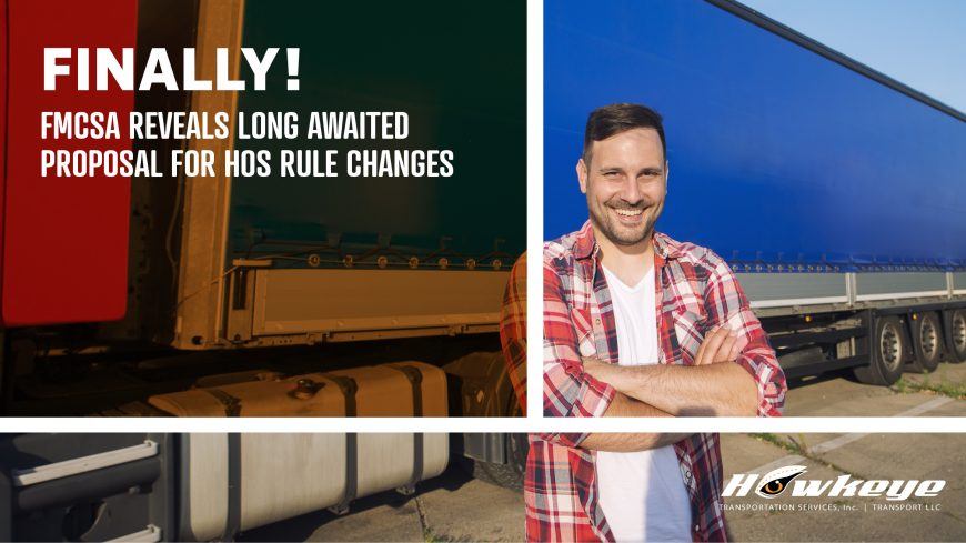 Finally, FMCSA Reveals Long-Awaited Proposal for Hours-of-Service Rule Changes