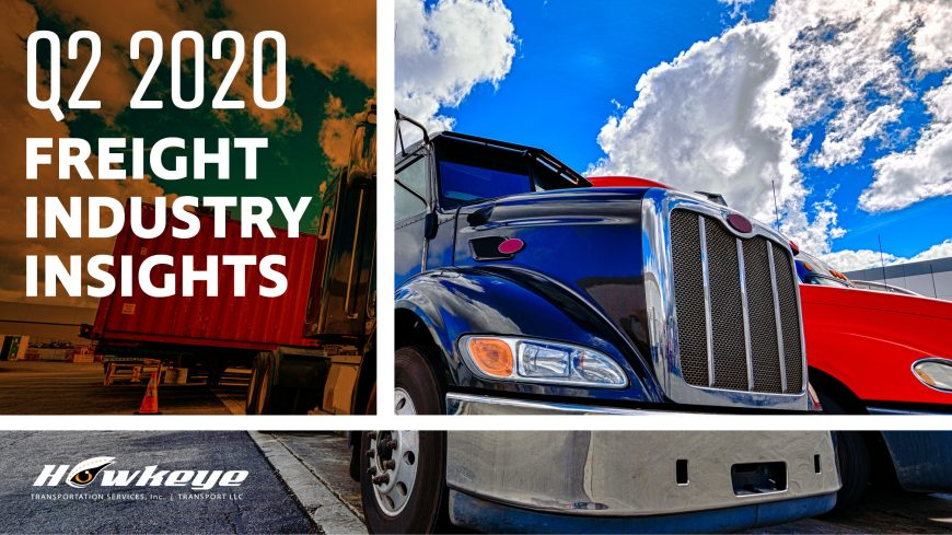 Q2 2020 Freight Industry Insights