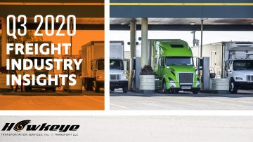 Q3 2020 Freight Industry Insights
