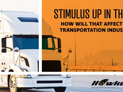 With the stimulus up in the air, what will the rest of the year look like for Transportation?